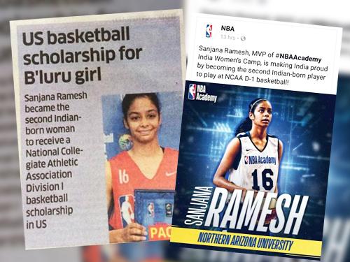 Sanjana-Ramesh Online Application Form For Scholarship In Karnataka on