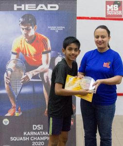 Rahul Balakrishnan - Squash Champion