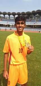 Gold Medal Winner in Mini Olympics by Akshit Maru
